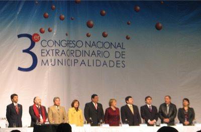Inauguración Tercer Congreso Extraordinario de Municipalidades