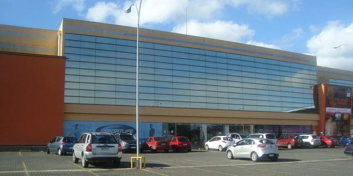 Fachada del Arena Puerto Montt