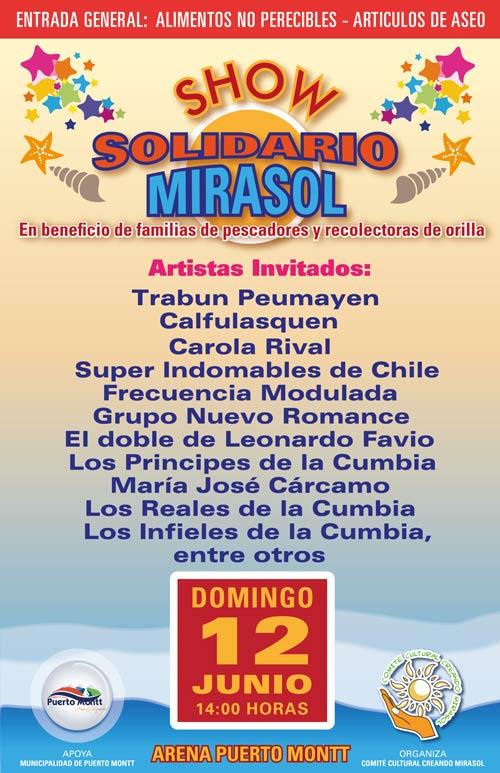 show solidario mirasol